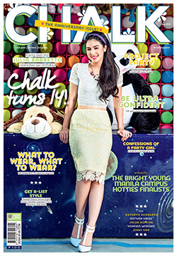 'Chalk' Magazine covers Julia Barretto on its 14th year!