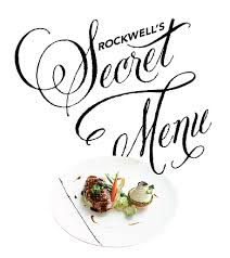 Ssssh, Rockwell's Secret Menu is back this December holiday!