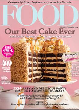 Pick the best holiday food gifts as Food Magazine turns 19!