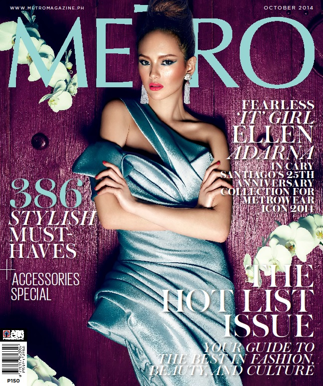 New Generation 'It' Girls Alex Gonzaga and Ellen Adarna's High Fashion Transformations Headline Metro's October 2014 Issue