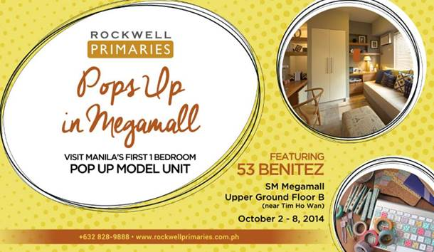 Rockwell Primaries Pops Up in SM Megamall