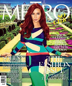 'Metro': Big Fashion Issue goes to Belgium with Solenn Huessaff!