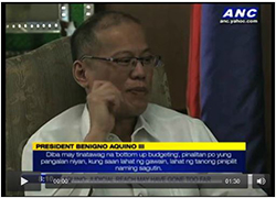No urgency for FOI law Aquino says