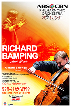 The ABS-CBN Philharmonic Orchestra Spotlight Series welcomes Richard Bamping for September