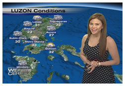 weather-presenter-gretchen-fullido-on-ancs-dateline-philippines-weather-report
